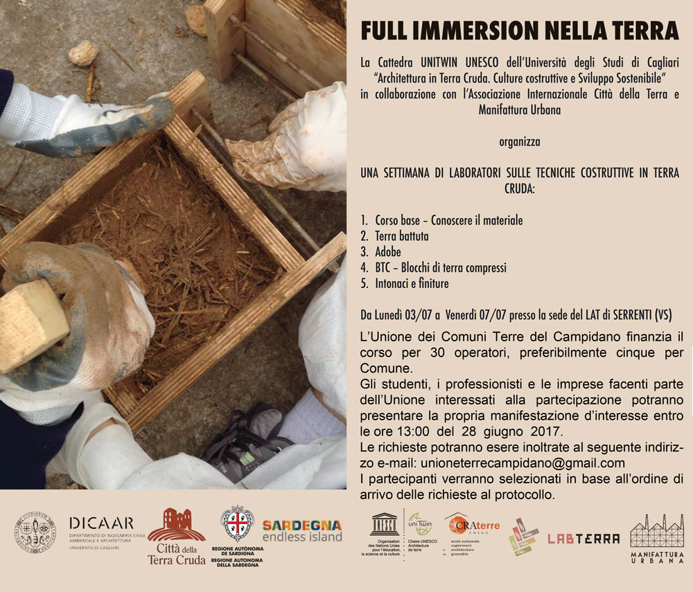 Workshop: Full immersion nella terra